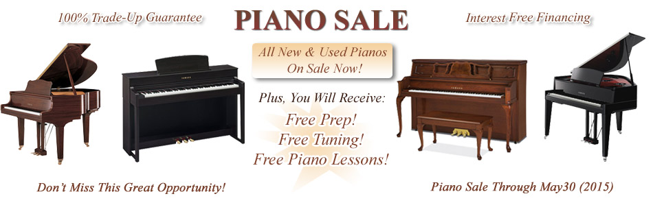 Pianos Authorized Deals NJ