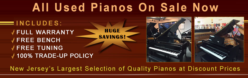Used Pianos On Sale NJ