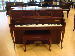 Used acoustic yamaha m500 qadc piano for sale nj for Yamaha m500s piano price