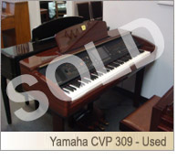 Used Digital Yamaha  CVP309 - SOLD Piano for sale NJ - image
