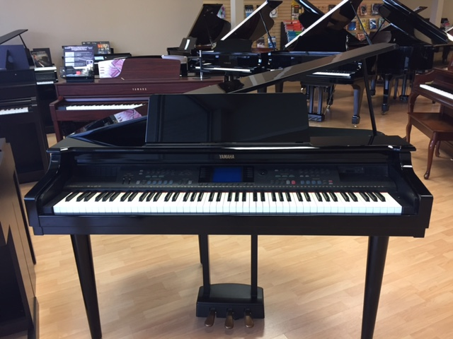 Used digital yamaha cvp 600 piano for sale nj for Yamaha pianos nj