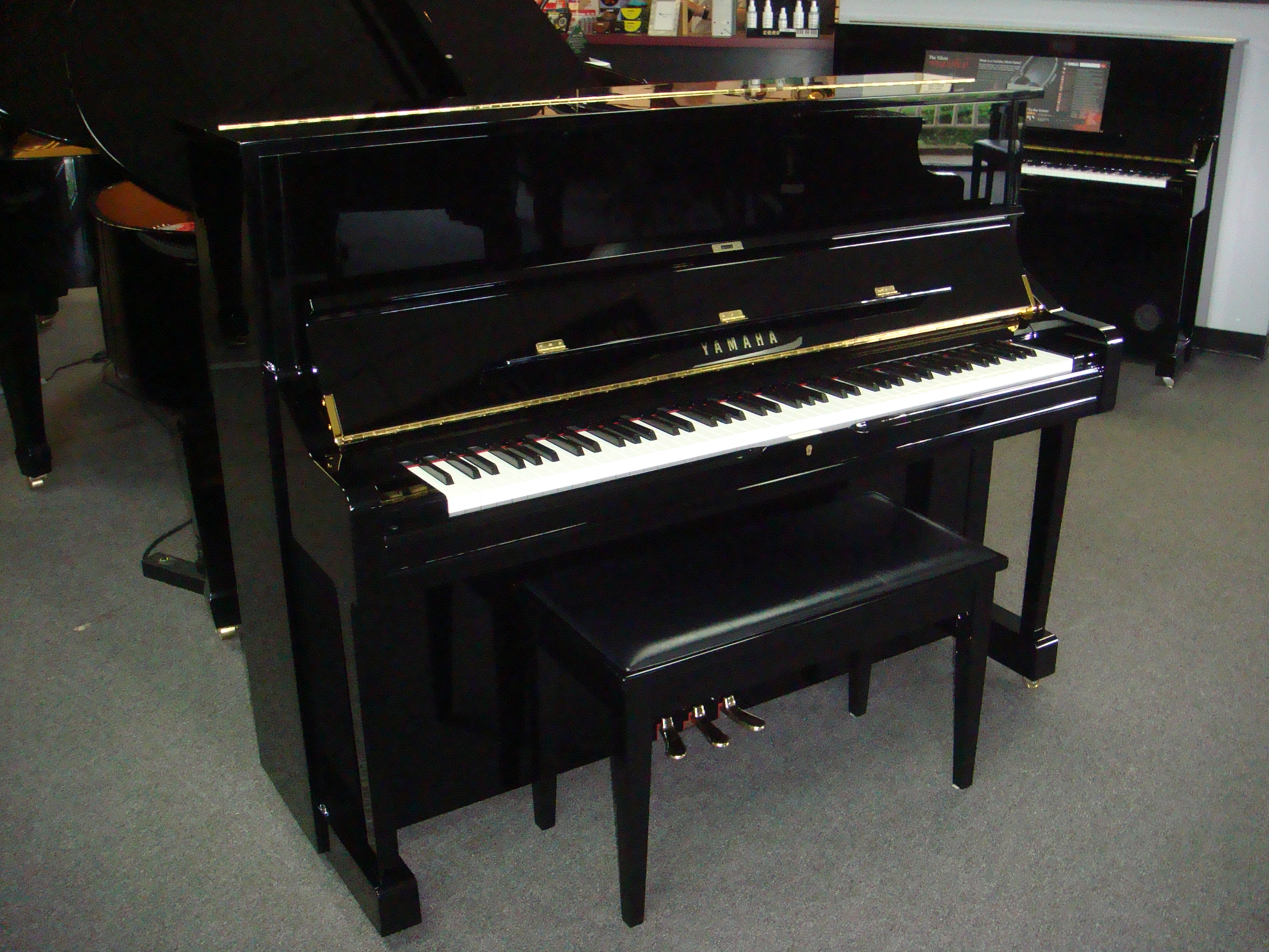 used acoustic yamaha u1 piano for sale nj