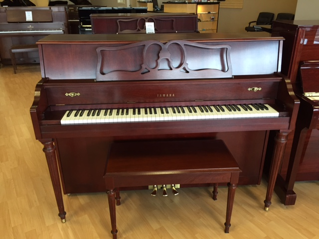 Used console yamaha m500s piano for sale nj for Yamaha console piano prices