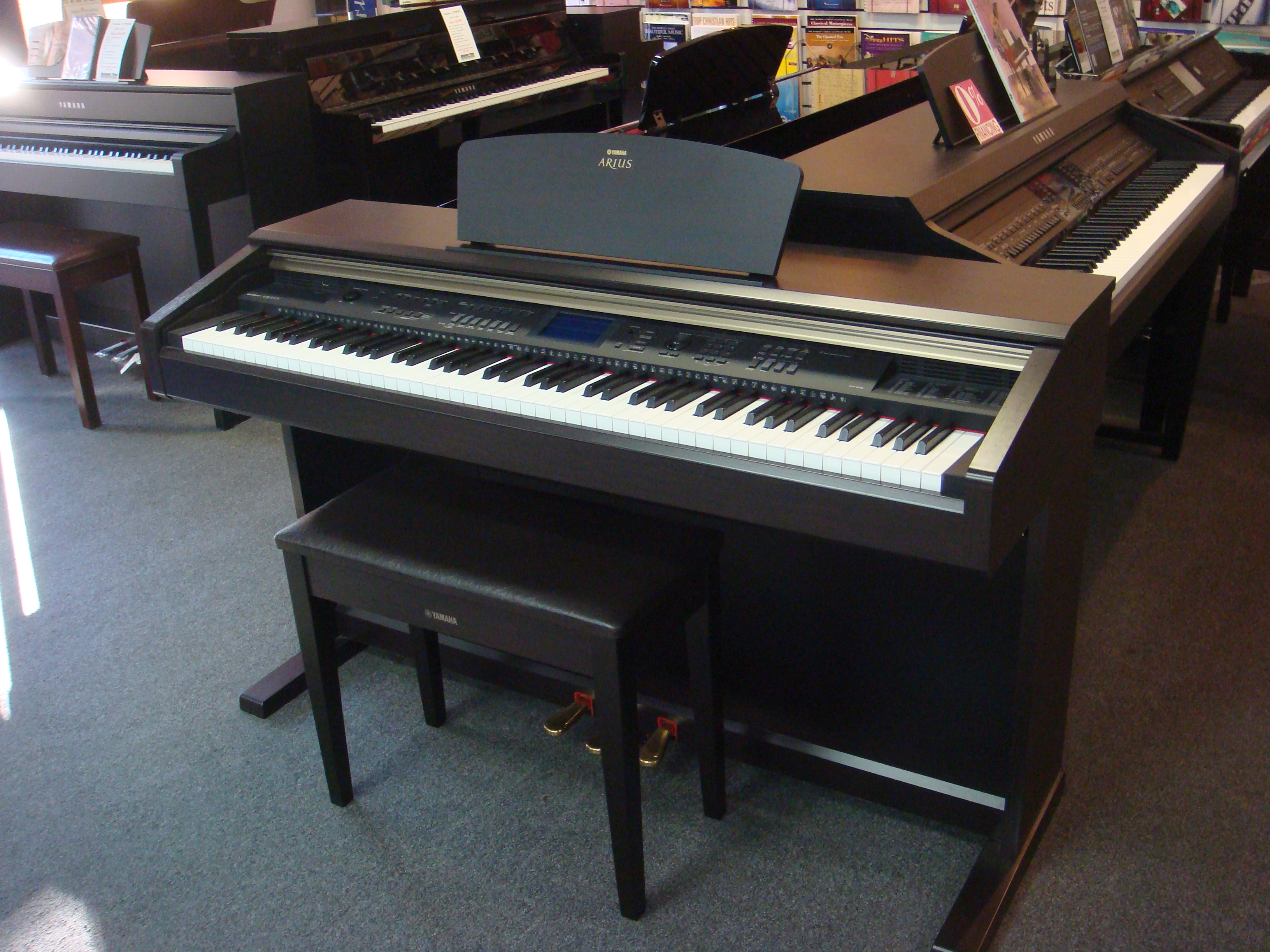 Used digital yamaha ydp v240 piano for sale nj for Yamaha pianos nj