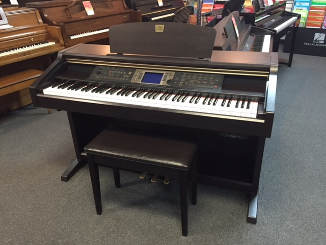 Used digital yamaha cvp 204 piano for sale nj for Used yamaha pianos for sale