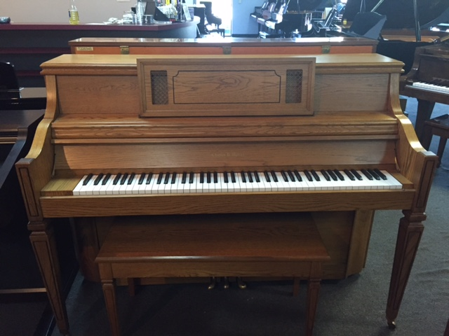 Used Acoustic  Charles Walters  Upright Piano for sale NJ - image