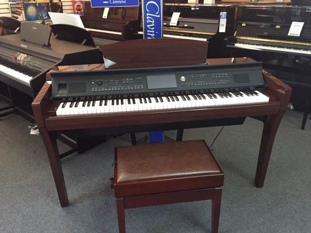 Used digital yamaha cvp 609 piano for sale nj for Used yamaha pianos for sale