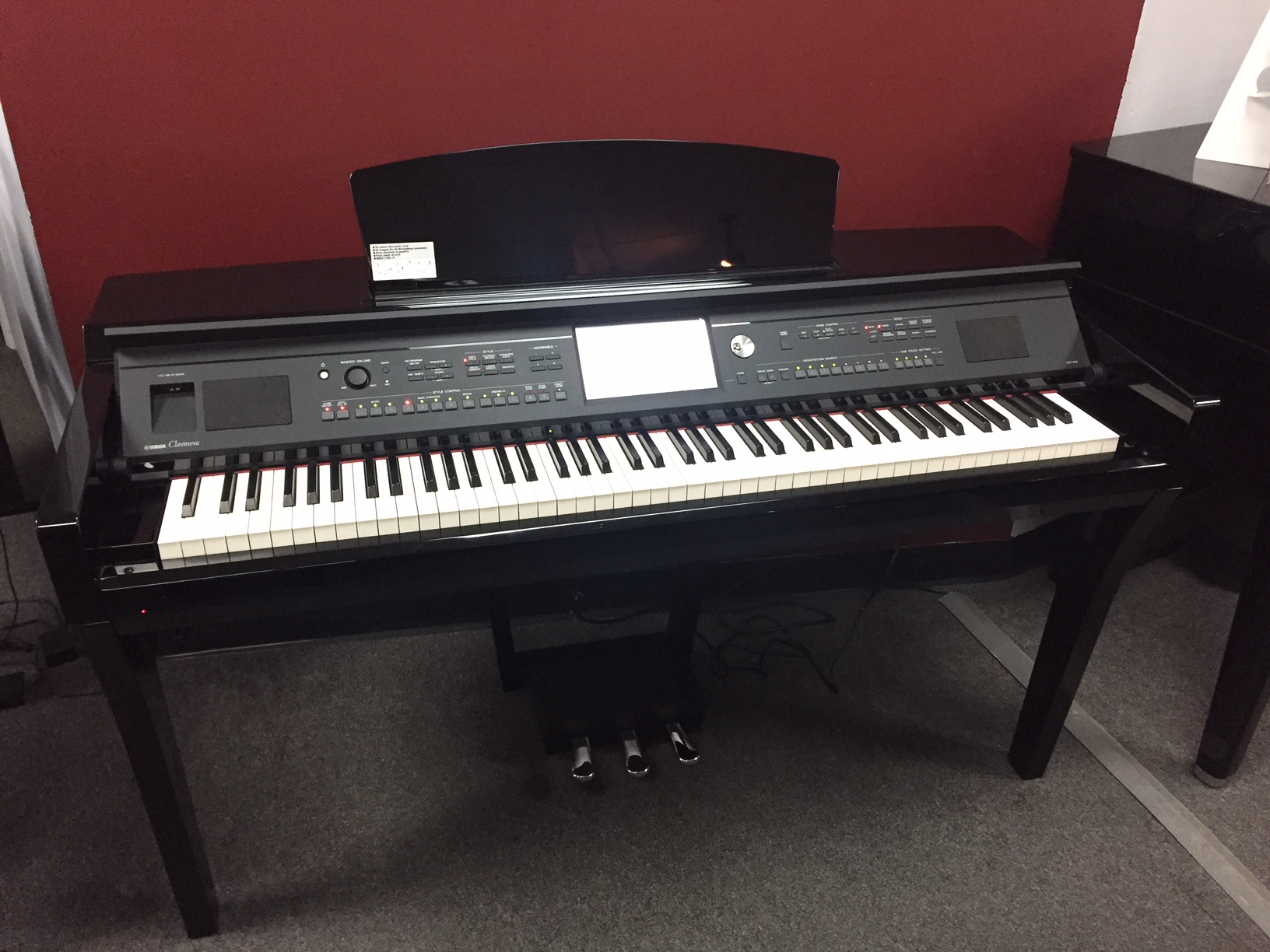 Used Digital Yamaha  CVP-609 Piano for sale NJ - image
