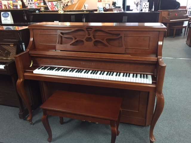 Strauss & Sons CJ-19F  Used Acoustic  Pianos - image