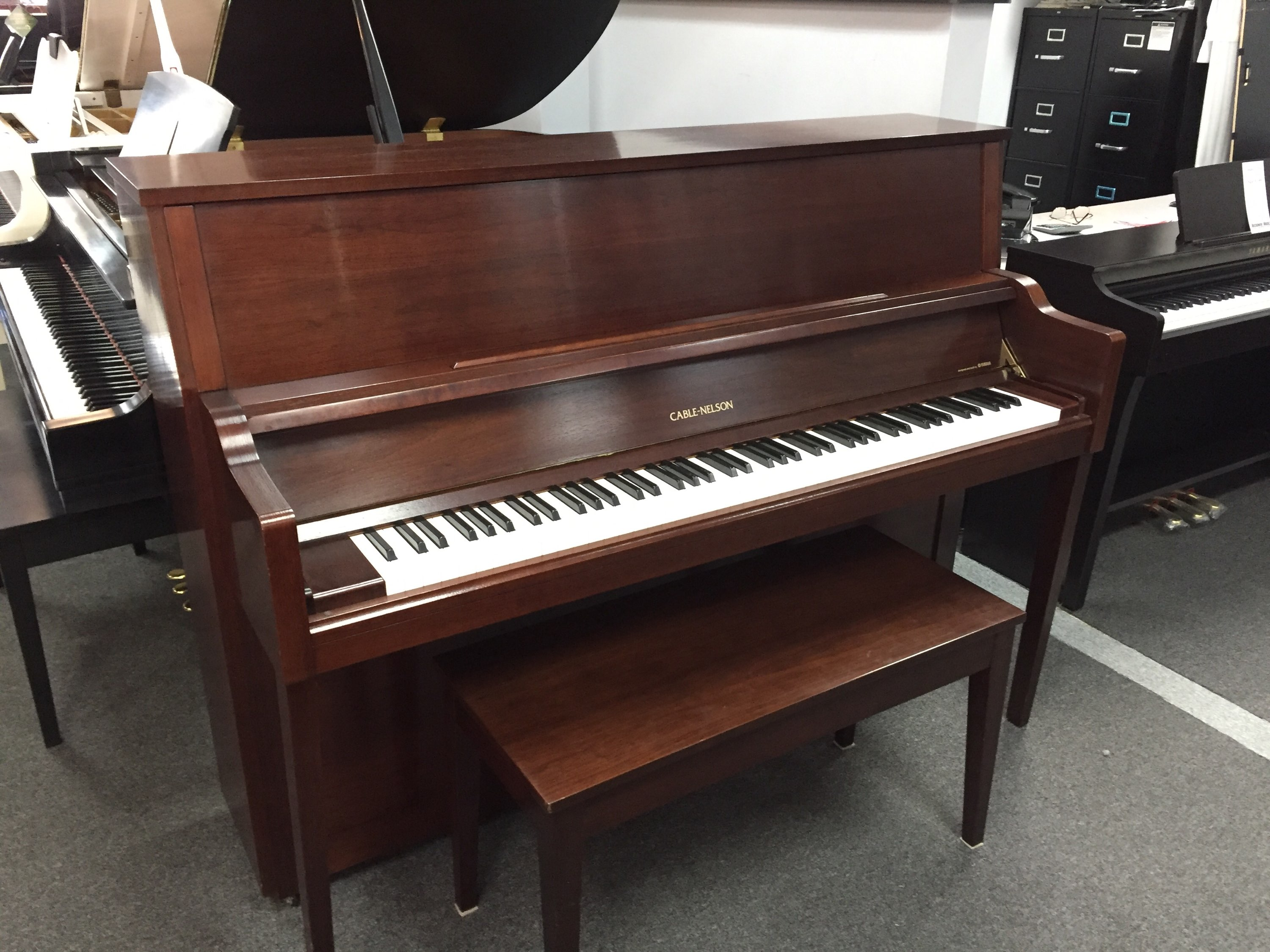Used Acoustic  Yamaha Cable-Nelson  CN-216 Piano for sale NJ - image