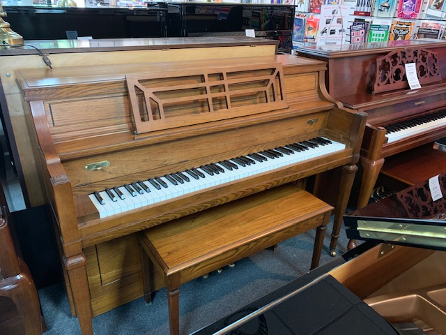 Used Acoustic  Yamaha  M-217 Piano for sale NJ - image